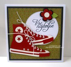 My Favorite Things Die-namics - all star high tops