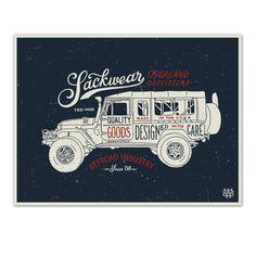 Sackwear Script Poster - Sackwear