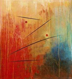 Organism Juggling.  Acrylic on Canvas Size: 115 x 105 cm   In Larz Eldbage gallery
