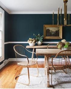 11 best dark blue dining room images living room lunch room rh pinterest com
