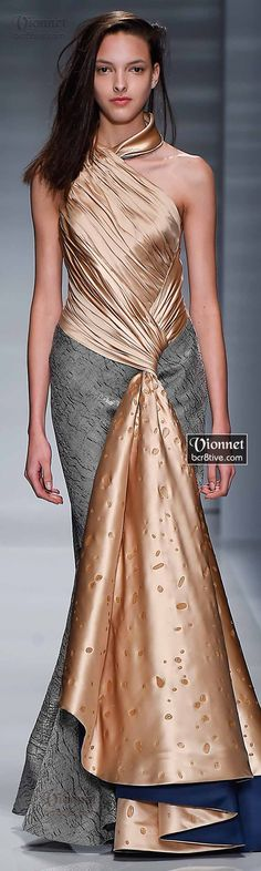 Vionnet Fall Winter 2014-15 Haute Couture