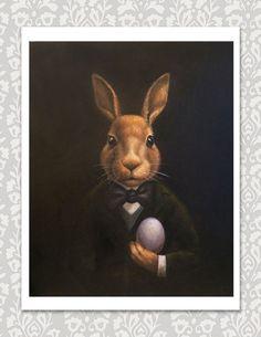 Easter Art, Easter Crafts, Hirsch Illustration, Easter Bunny Costume, Bunny Painting, Rabbit Art, Bunny Art, Egg Art, Spring Art