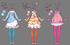 Outfits adopts 4 - Paypal Auction - Closed by rika-dono on DeviantArt