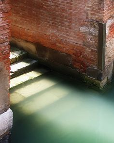 Venice Italy Canal Steps Fine Art Photo Print by SnapCandyFoto, $30.00