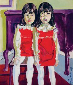 <p>Alice Neel.<em> The De Vegh Twins, </em>1975. Oil on canvas, 96.5 x 81.3 cm. Private collection, Washington, DC.