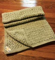 Super soft and snuggly afghan I crocheted for my grandson