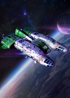 Space Fantasy, Sci Fi Fantasy, The Stars My Destination, Starship Concept, Spaceship Art, Space Ship, Science Fiction Art, Futuristic Architecture, Space Travel