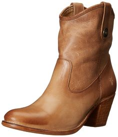 FRYE Women's Jackie Button Short Boot => Check out this great image  : Women's booties