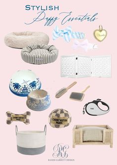 Sleeping Puppies, Toy Puppies, Dog Accesories, Pet Accessories, New Puppy Checklist, Puppy Room, Pet Style, Dog Rooms, Gifts For Pet Lovers
