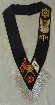 Masonic Rose Croix 30th Degree Sash | eBay