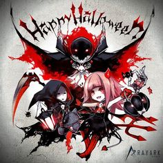 """millionmaster: """" Happy Halloween from Deemo FB page~ """" Taiwan, Manga Illustration, Narnia, Trick Or Treat, My Drawings, Happy Halloween, Concept Art, Anime Art, Cool Style"""
