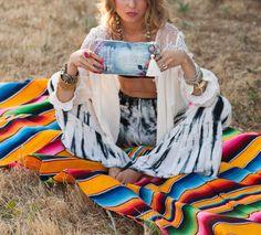 Serape blanket- Anahata Katkin Blog