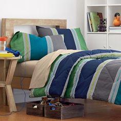 Kellan Stripe Back to School Bedding Collection