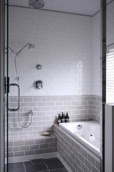 Fabulous Modern Bathtub Ideas for Modern Bathroom Remodel - Homeadzki Website Modern Bathtub, Modern Bathroom, Small Bathroom, Serene Bathroom, Bathroom Grey, Bathroom Hooks, Tub To Shower Remodel, Japanese Bathroom, Small Showers
