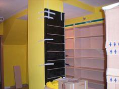 Imagenes de la instalación de librería Espacio Lector Nobel Villamuriel