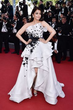 Cannes Film Festival - Aishwarya Rai in a gown from the Ralph & Russo Couture - click through for the full gallery