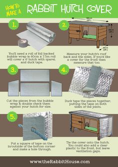 how to make a rabbit hutch cover                                                                                                                            More