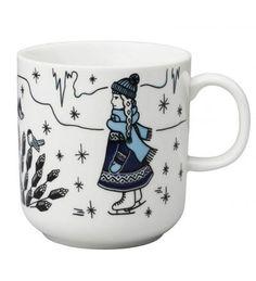 Arabia, Piilopaikka Pakkanen, l Utensils, Finland, Coffee Mugs, Ceramics, Tableware, Glass, Design, Decoration, Food And Drinks