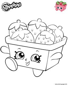 Strawberries shopkins 2019 coloring pages printable and coloring book to print for free. Find more coloring pages online for kids and adults of Strawberries shopkins 2019 coloring pages to print. Free Kids Coloring Pages, Princess Coloring Pages, Coloring Pages To Print, Free Printable Coloring Pages, Coloring Book Pages, Coloring Pages For Kids, Free Coloring, Shopkins Colouring Pages, Shopkins Characters