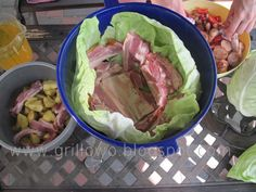 Cabbage, Grilling, Tacos, Mexican, Vegetables, Cooking, Ethnic Recipes, Food, Essen