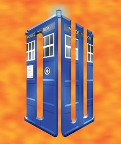 Dr Who Art | doctor who logo tardis by ificial art fan art digital art vector ...