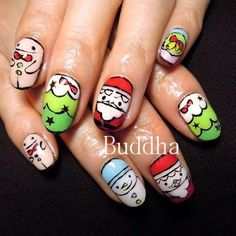 christmas by buddha_nail #nail #nails #nailart