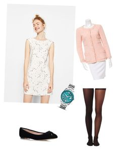 """""""Sin título #89"""" by nudul on Polyvore featuring moda, Chanel, FOSSIL, Carvela Kurt Geiger y Wolford"""