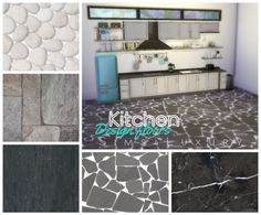 Kitchen design floors 2 at Sims4 Luxury via Sims 4 Updates