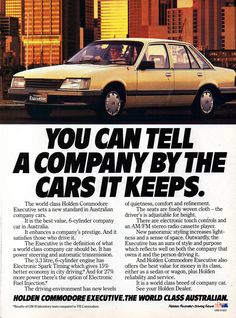 Retro Cars, Vintage Cars, Holden Australia, Holden Commodore, Australian Cars, Car Posters, Car Photos, Old Cars, Motor Car