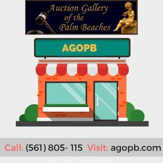 Best auctioneers of art and antiques   AGOPB contains fully cataloged and illustrated monthly auction of the fine estate, antiques, art, jewelry, and heirlooms is available to galleries, online, phone and absentee bidders in West Palm Beach Estates. Call: (561) 805-7115 Visit: http://agopb.com
