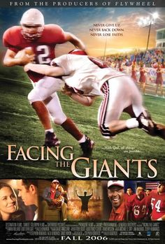Film chrétien facing the giants. The success of bella and facing the giants shows that this can be done. Facing The Giants, See Movie, Movie Tv, Films Chrétiens, Football Movies, Site Pour Film, Christian Films, Christian Posters, Bon Film