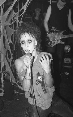 Alien Sex Fiend  June 6th 1983 By Mick Mercer