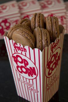 Malted Milk Macarons by DaydreamerDesserts, via Flickr