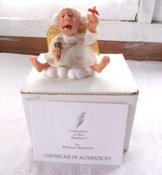 Richard Simmons Reminder Angel Goebel + COA Figurine Remember Treat Yourself