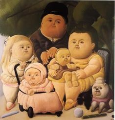 When I was young my interest in Art started around 1975 in Rotterdam, The Netherlands. My aunt took me to an exhibition of Botero in The Boymans van Beuningen Museum!
