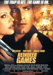 Watch Reindeer Games full hd online Directed by John Frankenheimer. With Ben Affleck, Gary Sinise, Charlize Theron, James Frain. After assuming his dead cellmate's identity to get with the ot Gary Sinise, Reindeer Games, Ben Affleck, See Movie, Film Movie, Charlize Theron, Image Film, Video Game News, Reno