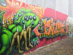 second half of graffiti found in Brunswick