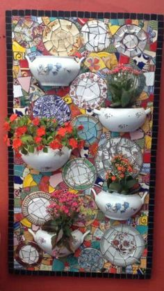 """Fantastic """"greenhouse plans"""" info is available on our web pages. Take a look and you wont be sorry you did. Mosaic Garden Art, Garden Wall Art, Mosaic Crafts, Mosaic Projects, Mosaic Ideas, Sea Glass Mosaic, Mosaic Wall, Christmas Mom, Window Art"""