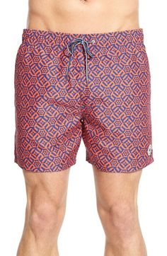 932786ecb26f92 Free shipping and returns on Ted Baker London  Abstract Geo  Swim Trunks at  Nordstrom