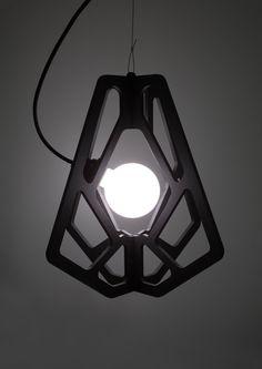 Hugo Chaffiotte EDNA Nantes - Suspended light on Behance Led Pendant Lights, Ceiling Pendant, Pendant Lamp, Pendant Lighting, Cool Chandeliers, Luminaire Applique, Creative Lamps, Home Lighting Design, Suspended Lighting