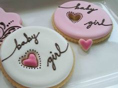 cute cookies, could be made blue or pink or both if its a suprise