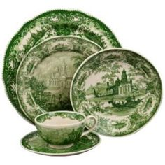 5-Piece Green and White Porcelain Dinner Place Setting by Universal Lighting and Decor, http://www.amazon.com/dp/B004S6VH40/ref=cm_sw_r_pi_dp_KA4.pb0WQ4RCP