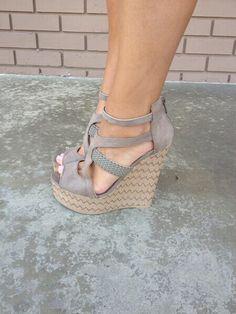 shoes - wedges, #heels - nice