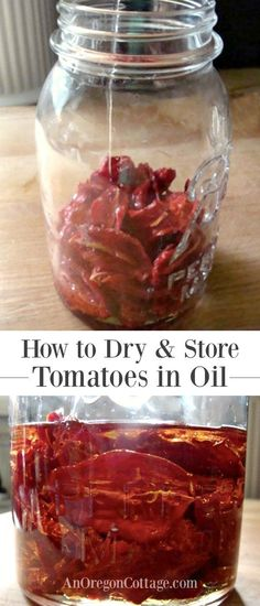 Tutorial and safety information on the time-honored tradition of drying tomatoes and storing in olive oil to use in any recipe calling for dried tomatoes.