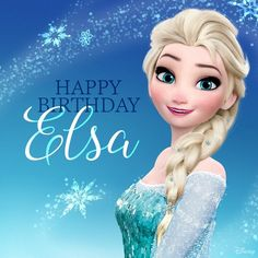 Happy Birthday Elsa! wallpaper containing a headshot in The Frozen Club