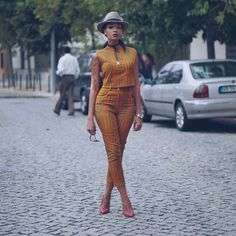 Beautiful Ankara Street Styles To Glam Up Your Looks - Afro Fahionista African Dresses For Women, African Attire, African Wear, African Fashion Dresses, African Women, African Clothes, African Style, African Inspired Fashion, African Print Fashion