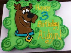 Scooby Doo Cake                                                                                                                                                                                 More