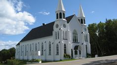 St Peters Catholic Church, Ingonish, Cape Breton Island, N. Beautiful Buildings, Beautiful Places, Cabot Trail, My Father's House, Atlantic Canada, Cape Breton, Old Churches, Prince Edward Island, Chapelle