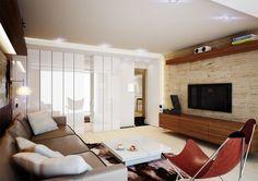 Projekt wnętrz apartamentu w Pruszkowie w nowojorskim stylu -Tissu. Aranżacja wnętrza 90m2 mieszkania . Klasyka designu łączy się  z prostymi formami mebli. http://www.tissu.com.pl/zdjecia/228