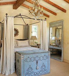 Pretty Details #tuscan #decor #bedroom